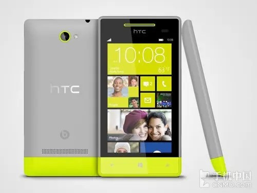 white and green htc 8s windows 8 phone unveiled in China