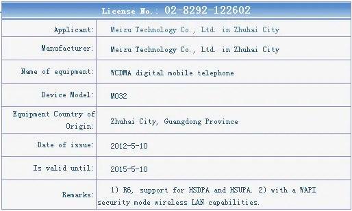 Mezu Mx gets network license
