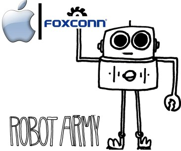 foxconn apple robot army picture,foxcoon robot workers,foxconn ai robot picture