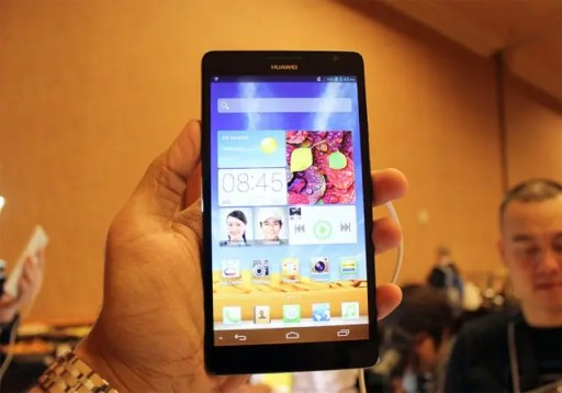 huawei ascend mate unveiled