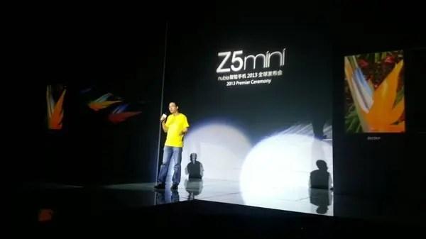 nubia z5 mini launch