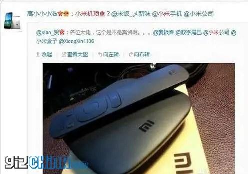 leaked xiaomi mi tv android set top box