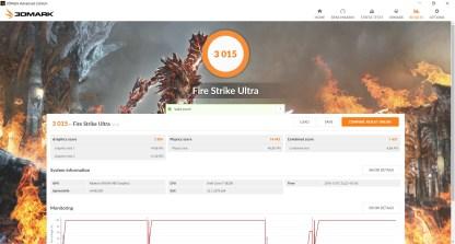Resultado Firestrike Ultra Drivers Crimson 16.10.1