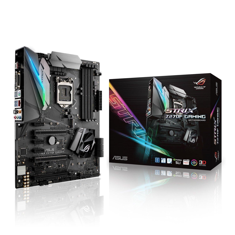 Asus ROG Strix Z270F Gaming: una gran placa base Z270 para el segmento de los 200 euros.