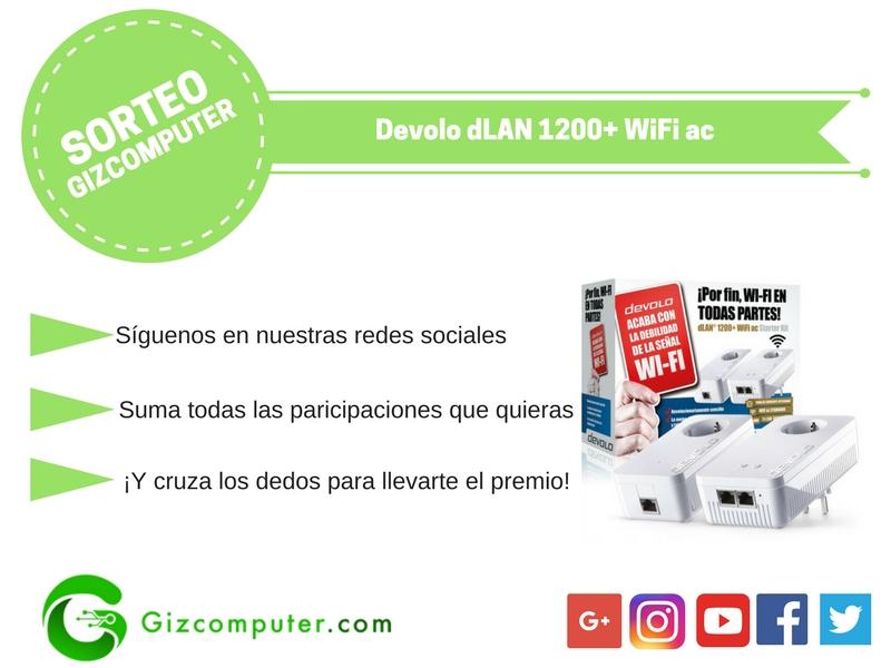 SORTEO: Devolo dLAN 1200+ WiFi ac [FINALIZADO]
