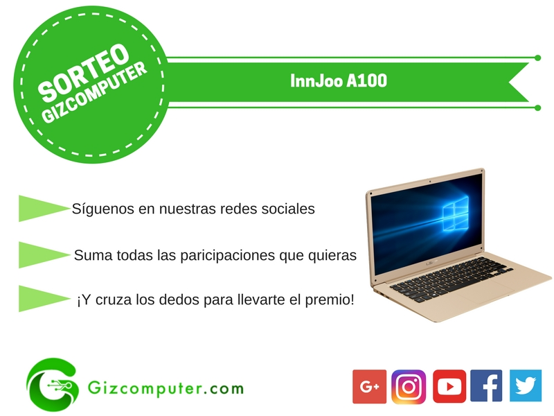 SORTEO ESPECIAL IFA '17: Portátil InnJoo A100 [FINALIZADO]
