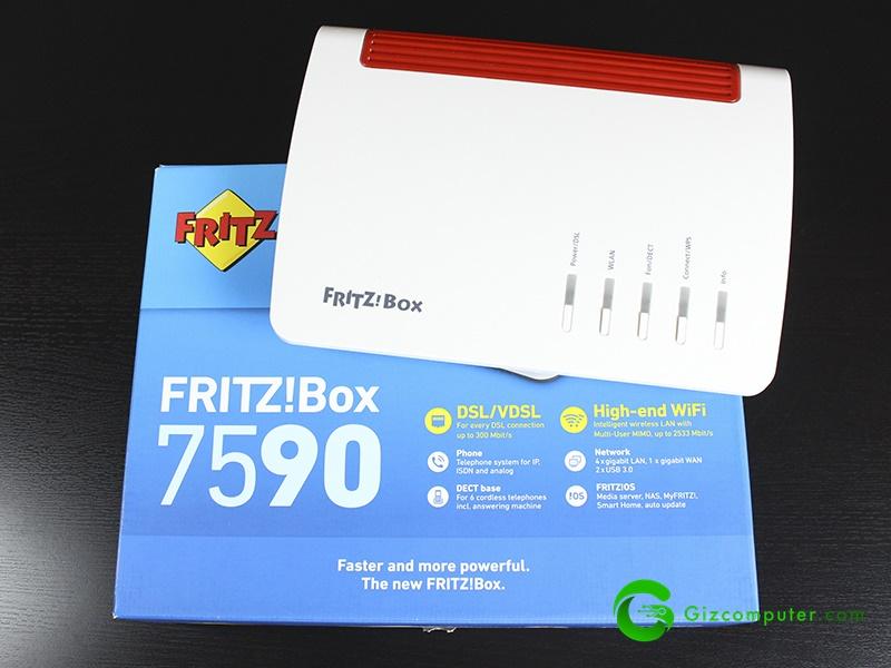 Fritz 7590, análisis del router más completo del mercado
