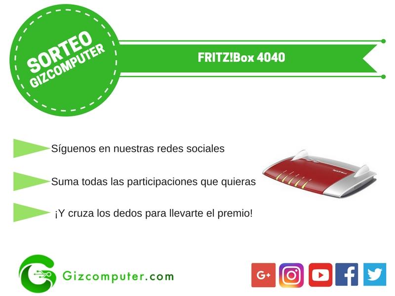 SORTEO: FRITZ Box 4040, un router ac gratis para ti [FINALIZADO]