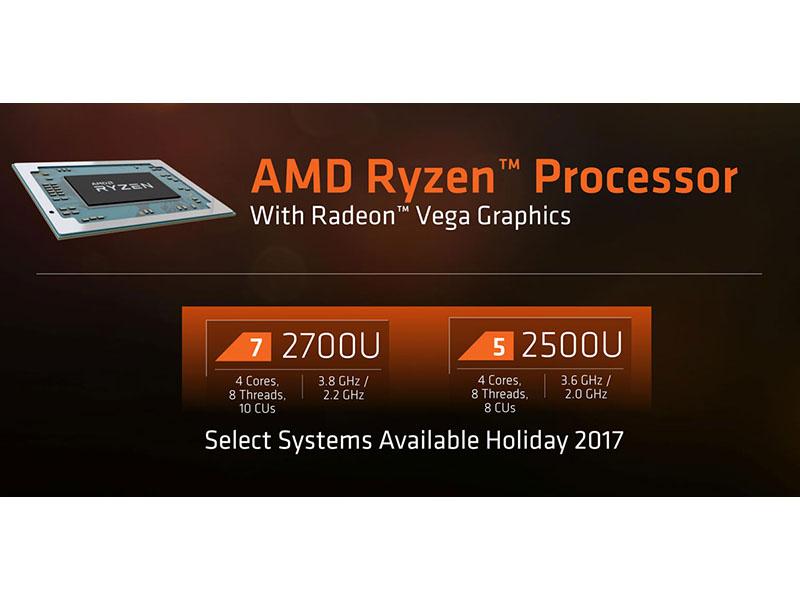 Llegan los Ryzen Mobile, los procesadores de AMD para portátiles