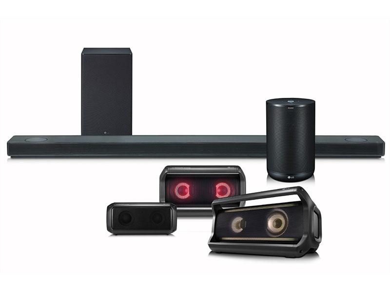 Novedades de audio de LG para el CES 2018
