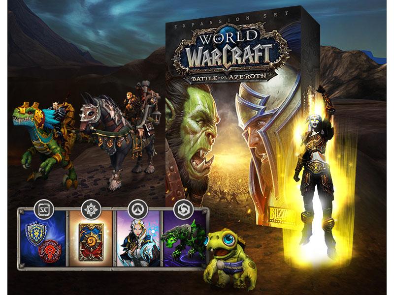 Ya se puede reservar Battle for Azeroth, última expansión de WoW