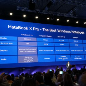 Huawei MateBook X Pro, comparativa