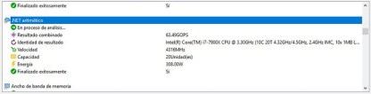 Intel Core i9-7900X Analisis Sandra Platinum 5