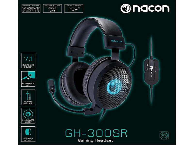 Nacon GH-300SR, los auriculares perfectos para no perderte detalle