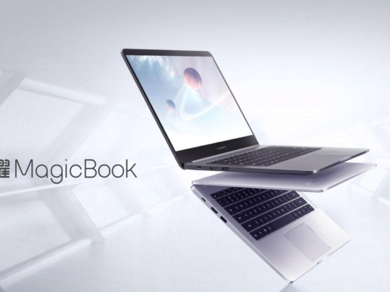 Llega el nuevo ultrabook Honor MagicBook 14 de Huawei