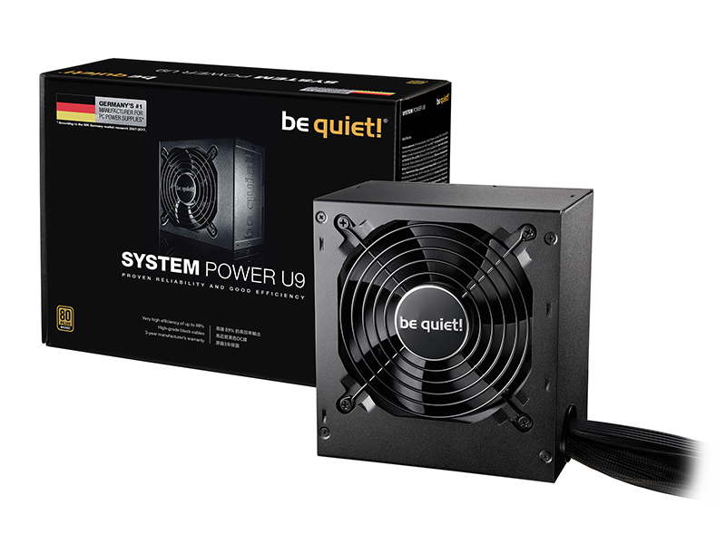 Nueva familia de fuentes be Quiet! System Power U9