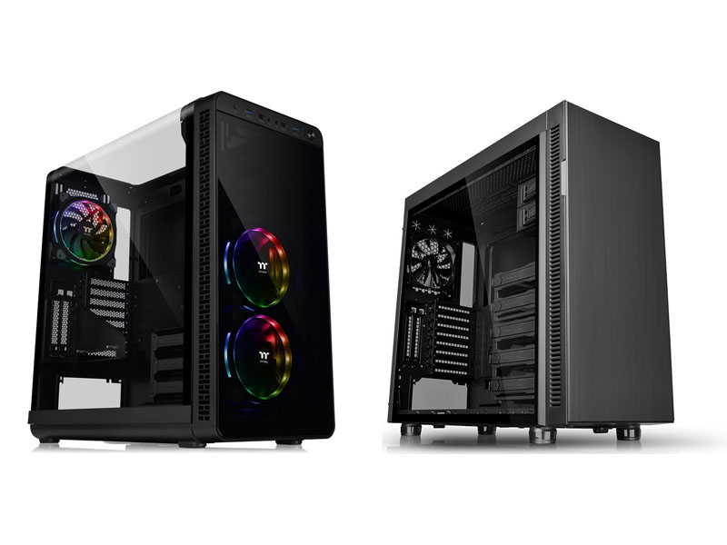 Thermaltake View 37 y Suppressor F51, comparativa