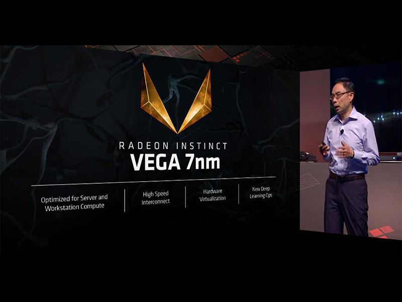 Presentación de las gráficas AMD Vega a 7 nm en la Computex 2018