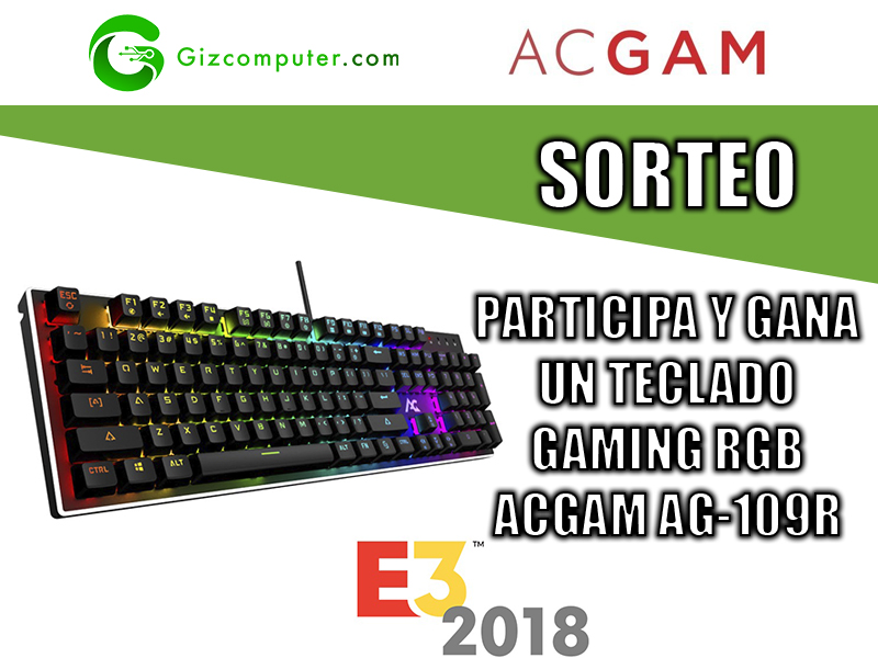 SORTEO: Participa y gana un teclado mecánico gaming RGB #E32018