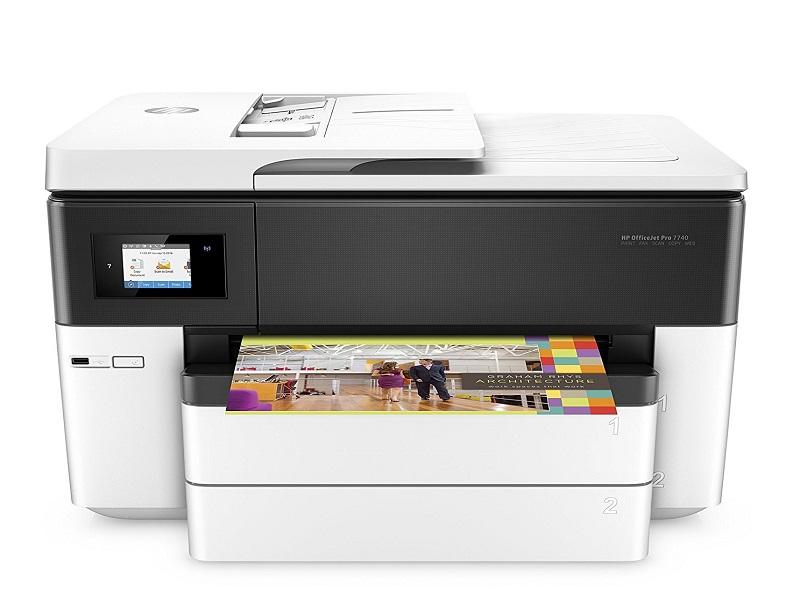 HP OfficeJet Pro 7740, una multifunción con fax que imprime hasta A3