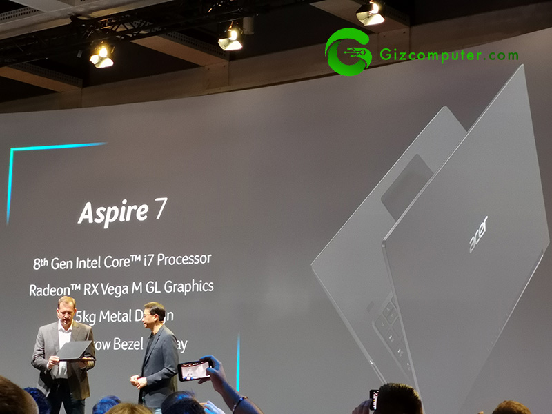 #IFA18: Acer next@acer 2018, sus portátiles y All-in-One