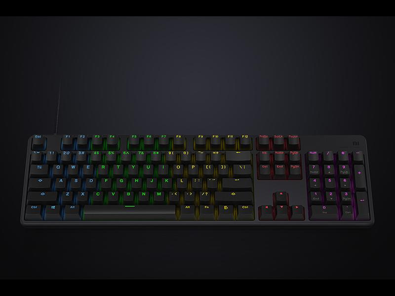 Nuevo teclado Xiaomi Game Keyboard para jugones