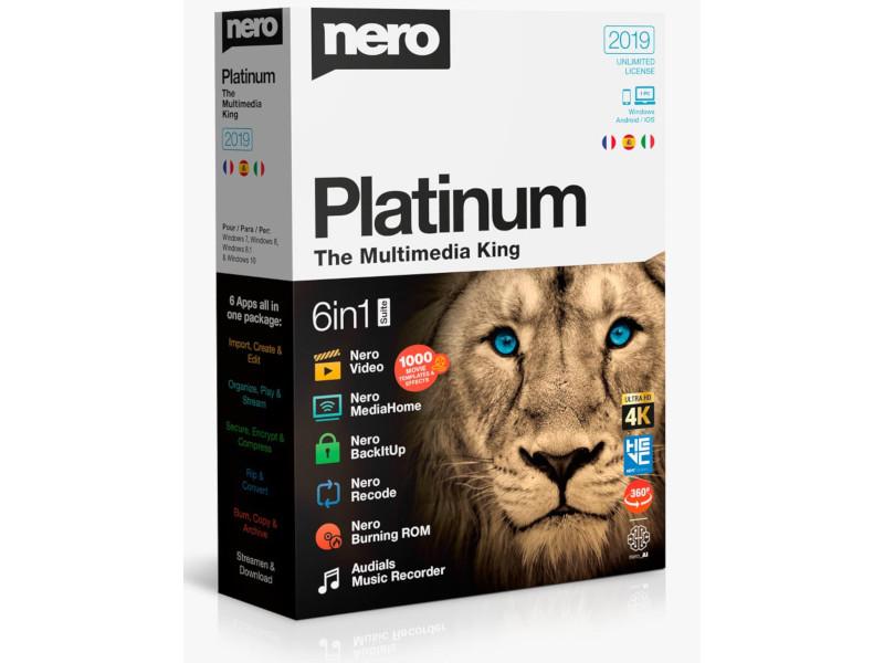 Nero Platinum 2019, todo tu multimedia en una sola Suite