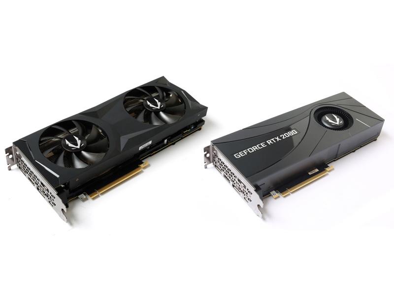 Zotac Gaming GeForce RTX 2080 y Zotac Gaming GeForce RTX 2080 Blower