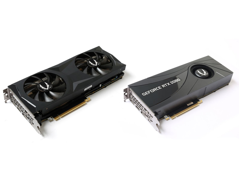 Zotac Gaming GeForce RTX 2080 y 2080 Ti Blower, dos gráficas