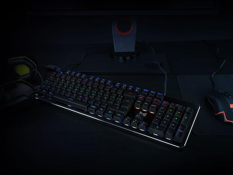 BG Gaming presenta su nuevo teclado mecánico, Raven