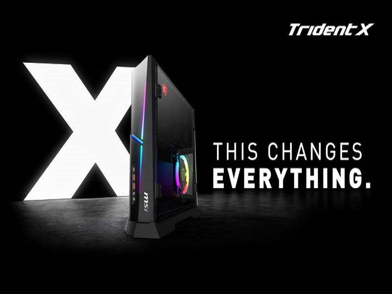 MSI Trident X 9SD-015EU, uno de los PC Gaming más compactos