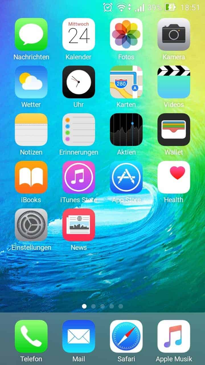 Iphone Galaxy 7 Wallpaper Ios