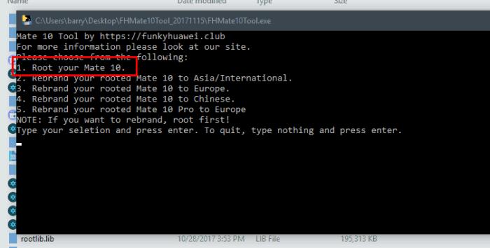 root mate 10 FHMate10Tool - Unlock Mate 10 Bootloader & Root Huawei Mate 10 Pro and Mate 10