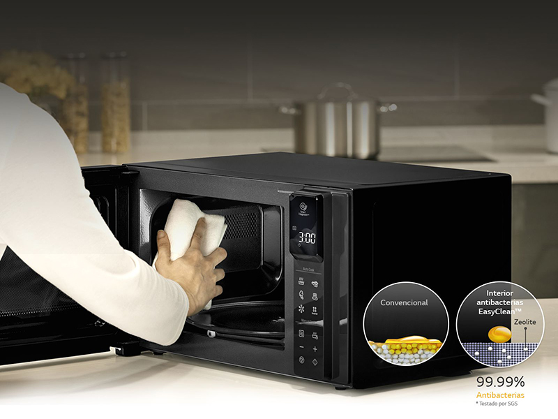 LG MH6336GIB, características de un microondas compacto y eficiente