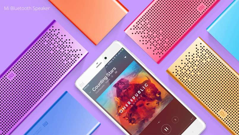 Xiaomi Mi Bluetooth Speaker, el altavoz más colorido