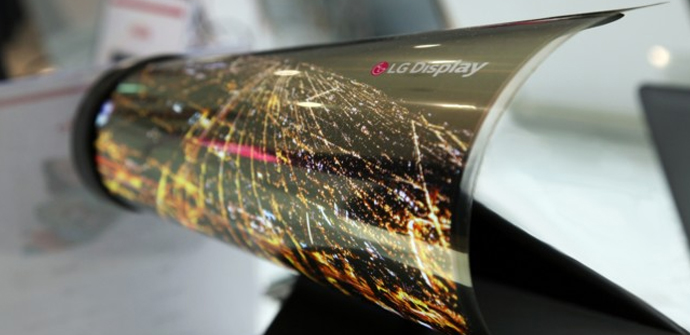 LG nos sorprende con una pantalla flexible (CES 2016)