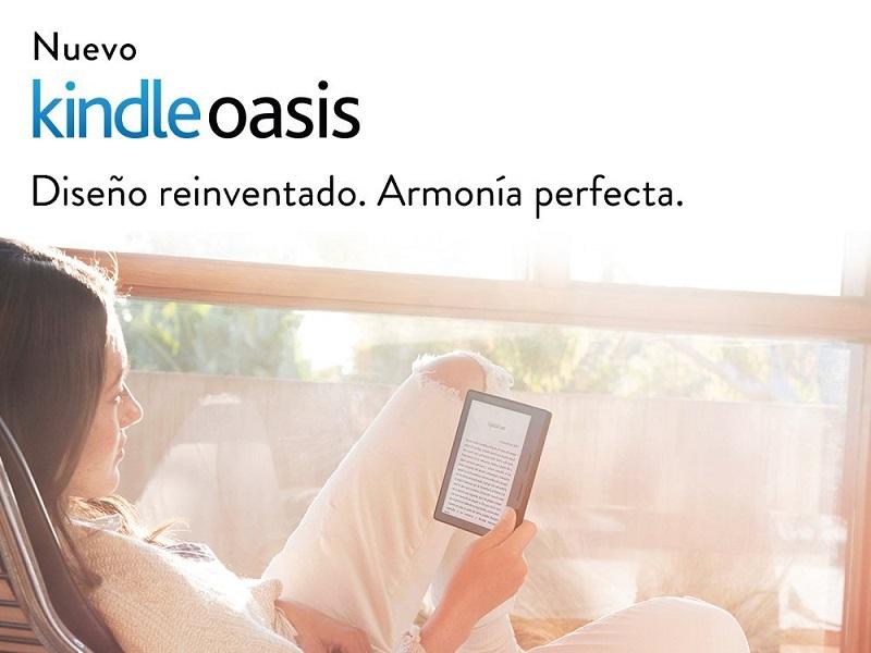 Kindle Oasis, Amazon renueva su catálogo a un precio disparatado