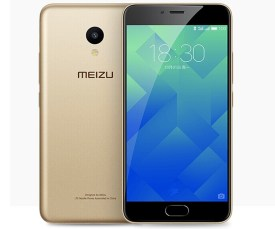 Meizu M5 en color dorado