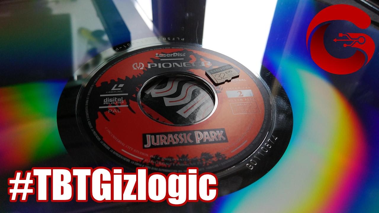 Throwback Thursday: El gran Laserdisc