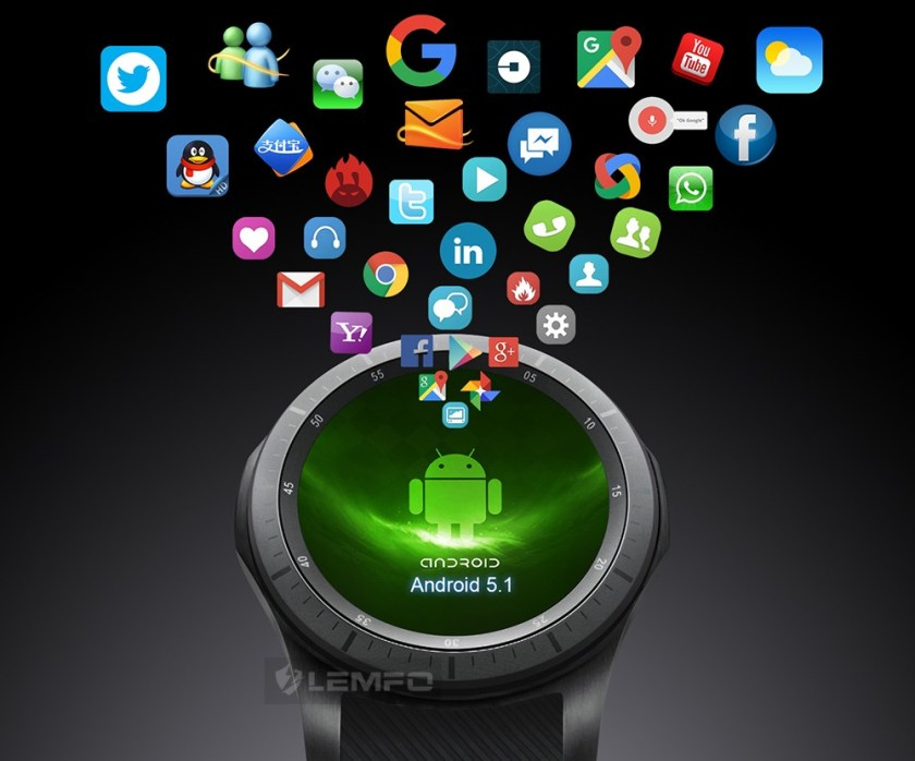 Lemfo LF16 Android 5.1