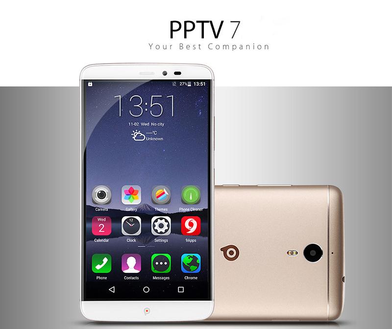 PPTV King 7, un Smartphone grande en diseño y bondades