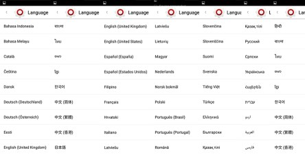 Landvo XM100 Pro idiomas