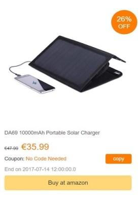 dodocool cargador solar