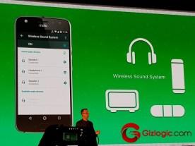 Lenovo Moto X4 Sistema de audio