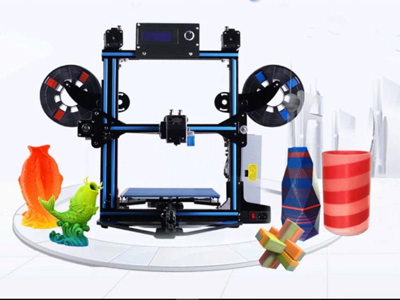 Zonestar Z5MR2, la impresora 3D asequible con impresión de color dual