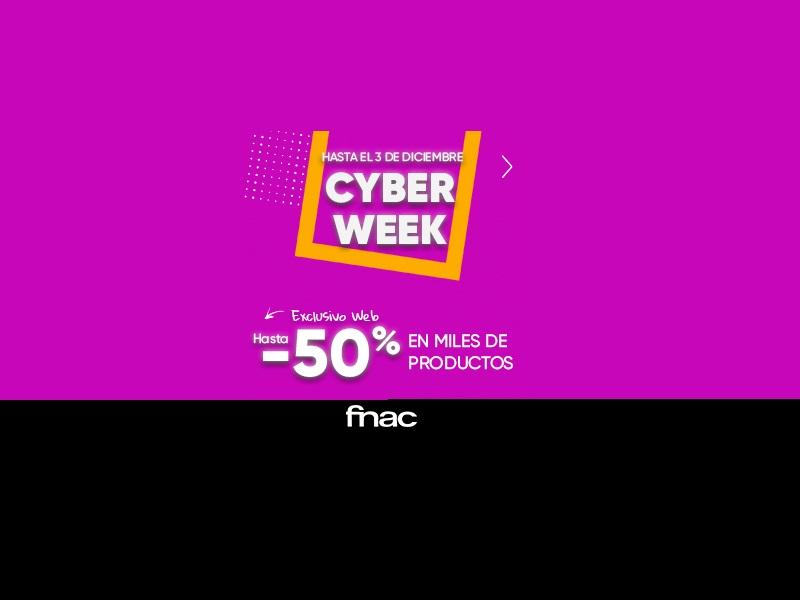 Cyber Monday en FNAC: estas son sus mejores ofertas