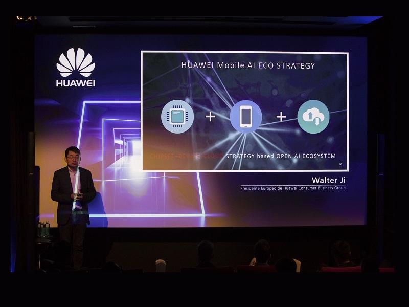 Las novedades de Huawei pasan por la inteligencia artificial