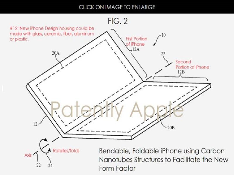 Iphone plegable, ¿será pronto una realidad?