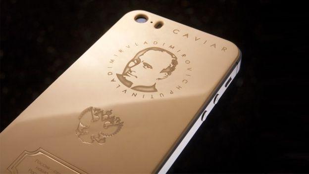 iPhone X Caviar: lujo ruso.