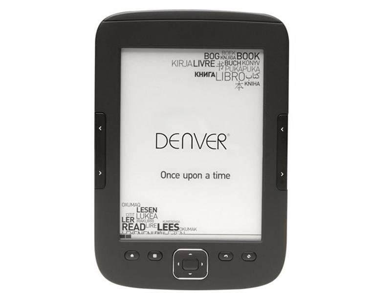 Denver EBO-610L, tu nuevo lector de ebooks con precio accesible